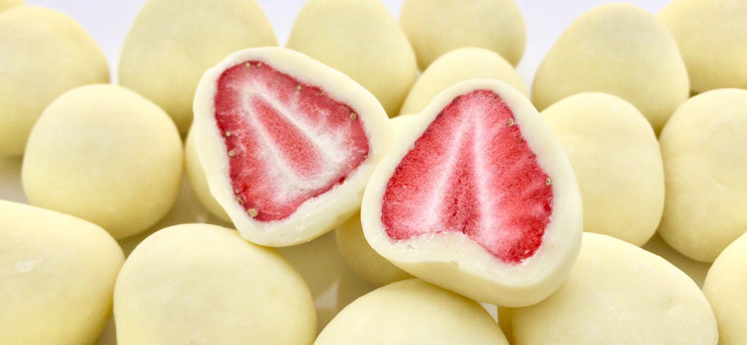 苺のトリュフショコラ(ホワイト)