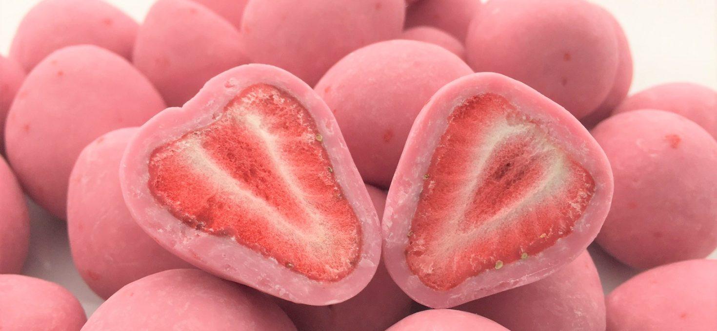 苺のトリュフショコラ(ストロベリー)